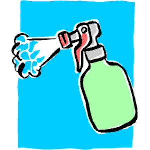 Spray Bottle Clipart.