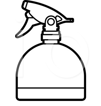 Clipart spray bottle.