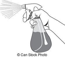 Spray bottle Stock Illustrations. 9,306 Spray bottle clip art.