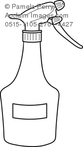 Clipart spray bottle.