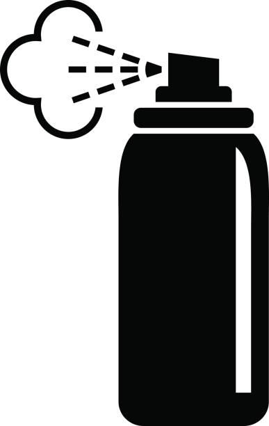 Spray clipart spray can.