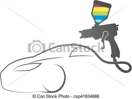 Spray gun Vector Clip Art EPS Images. 793 Spray gun clipart vector.