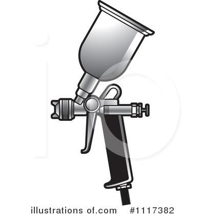 Spray Paint Gun Clipart.
