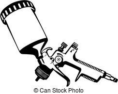 Spray gun Vector Clip Art EPS Images. 733 Spray gun clipart vector.