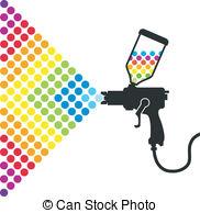 Paint gun Clipart and Stock Illustrations. 2,626 Paint gun vector.
