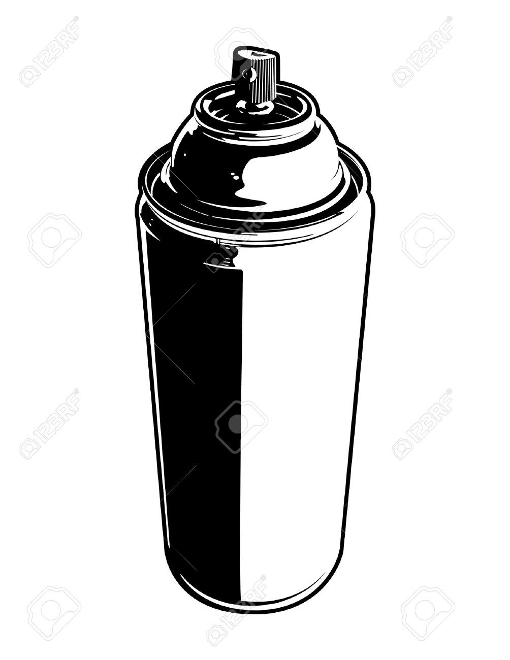 Spray paint can clipart 2 » Clipart Portal.