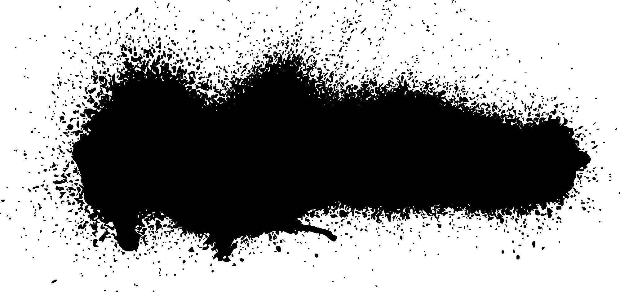 26 Grunge Spray Paint Stroke Banner (PNG Transparent, SVG.