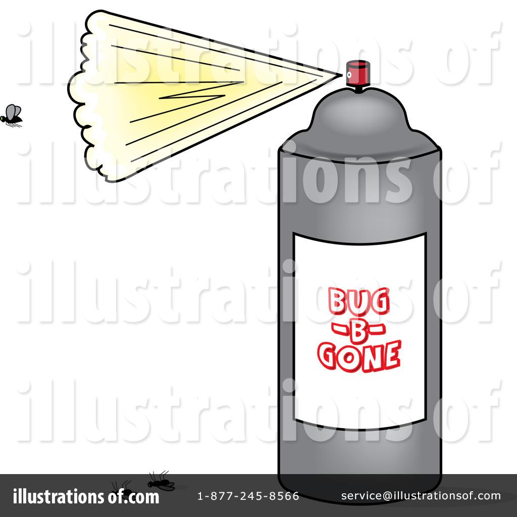 Bug Spray Clipart.