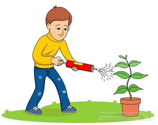 Clip Art of Pesticides.
