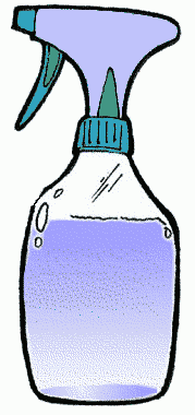 Spray Cleaner Clipart.