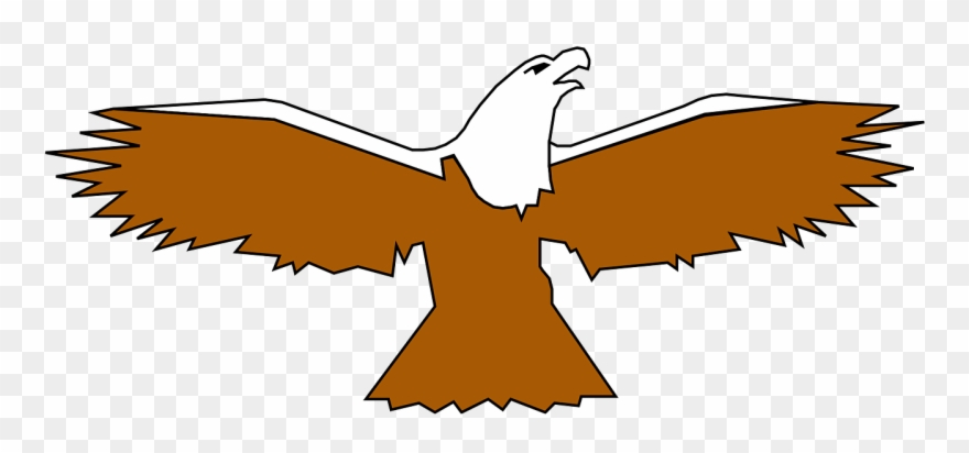 Bald Eagle Clipart Spread Wing.