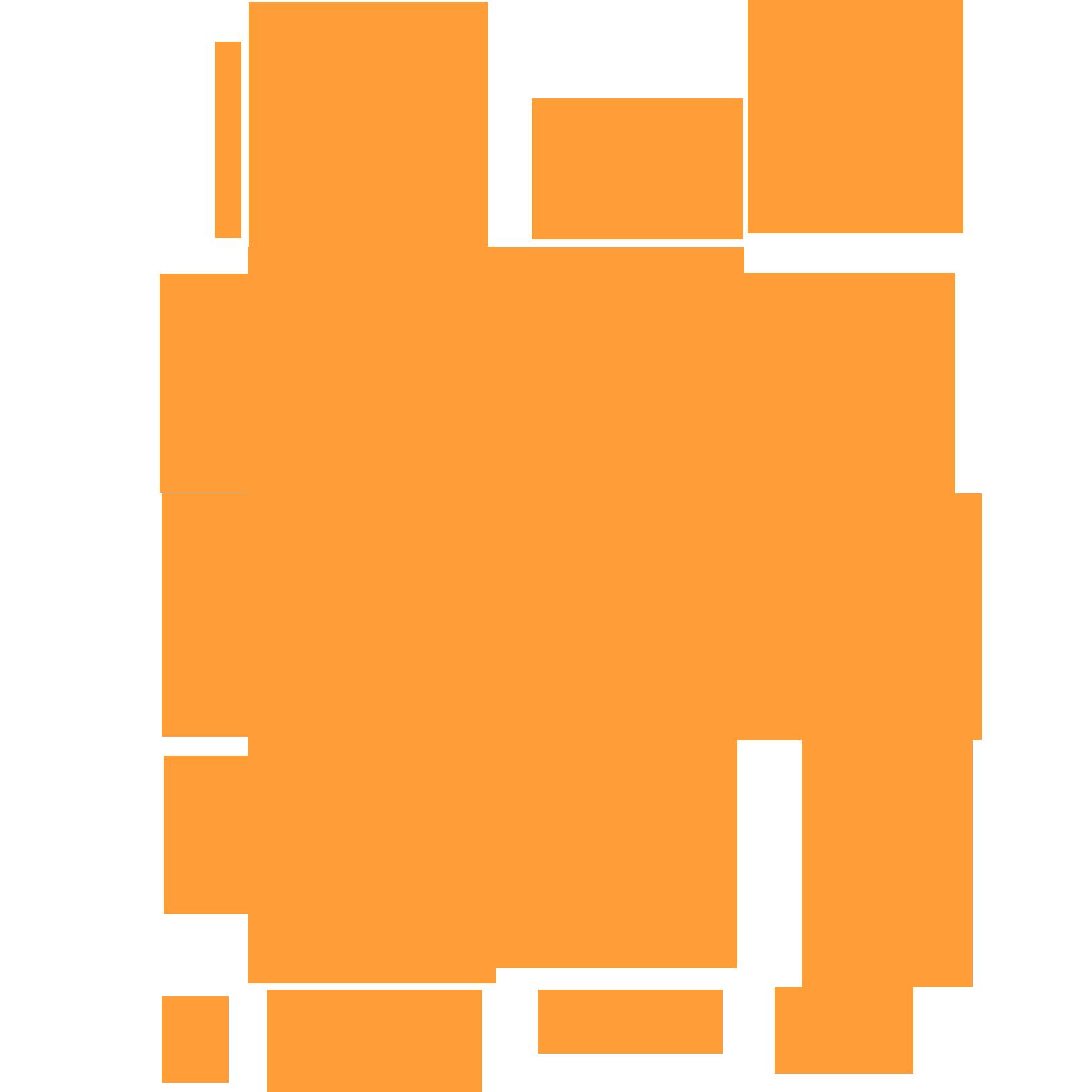 Orange splat png image #38305.