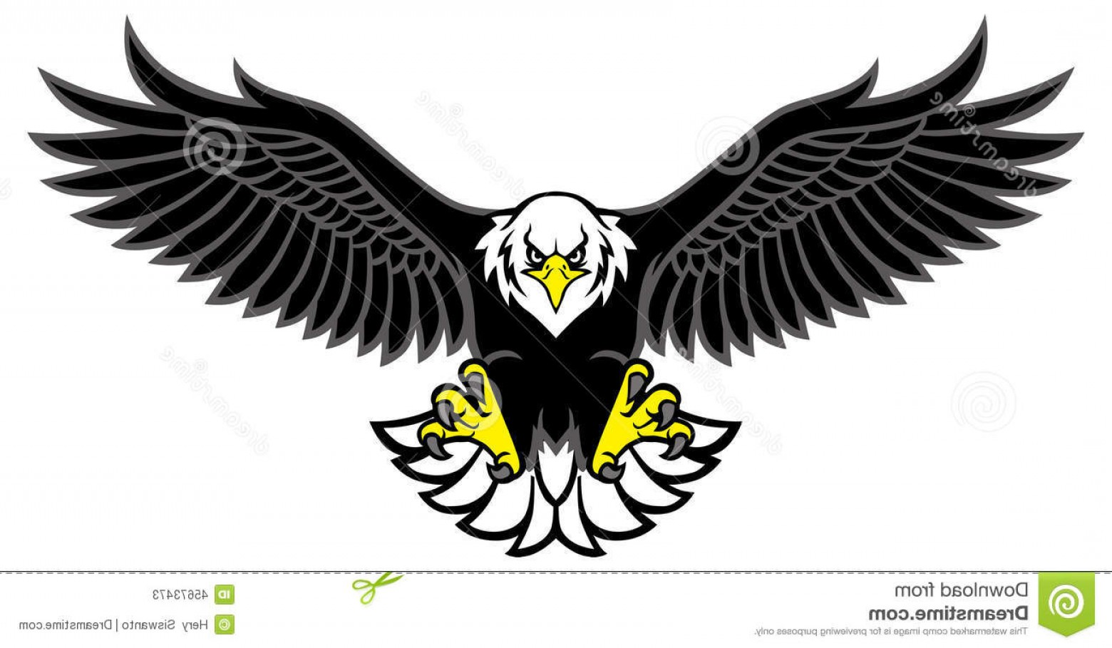 Best Eagle Clip Art Vector Image Image.