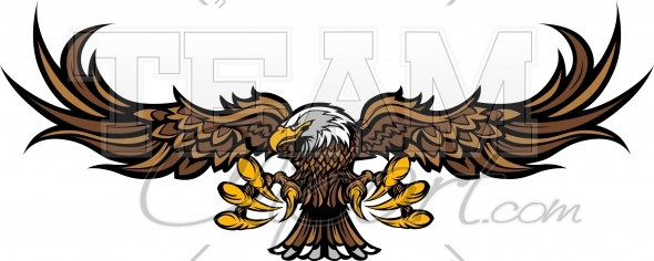 Eagle Clipart Image. Easy to Edit Vector Format..