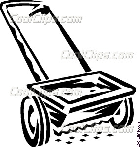 seed spreader Vector Clip art.