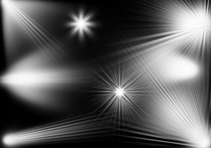 Rays of Light Brushes.