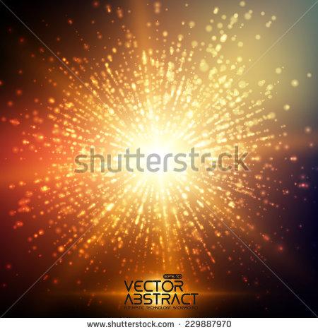Transparent Glow Light Effect Star Burst Stock Vector 461934502.