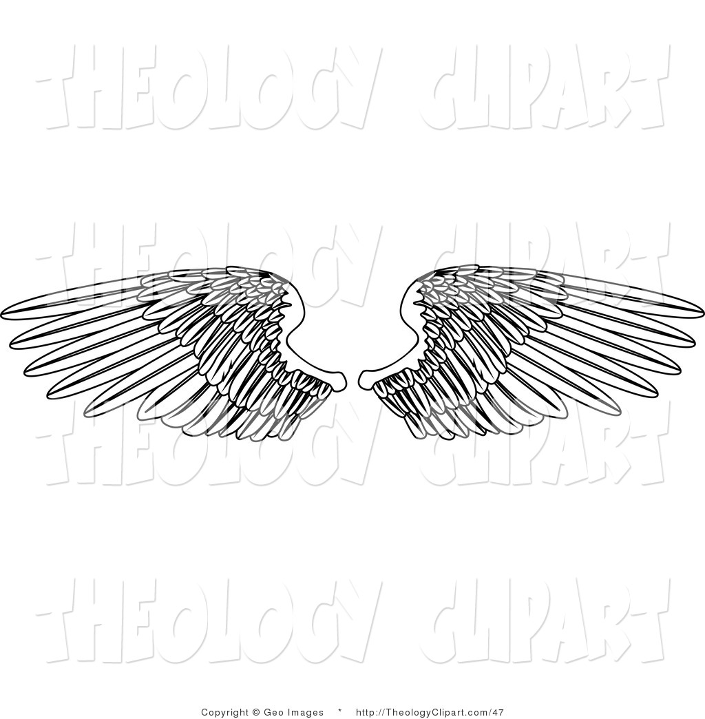 Royalty Free Wing Stock Theology Designs.