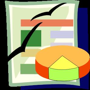 Spreadsheet Clip Art at Clker.com.