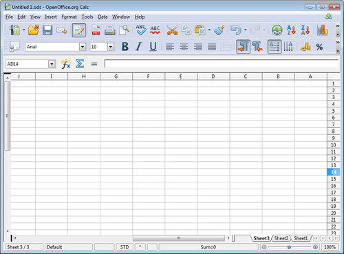Spreadsheet clipart #5