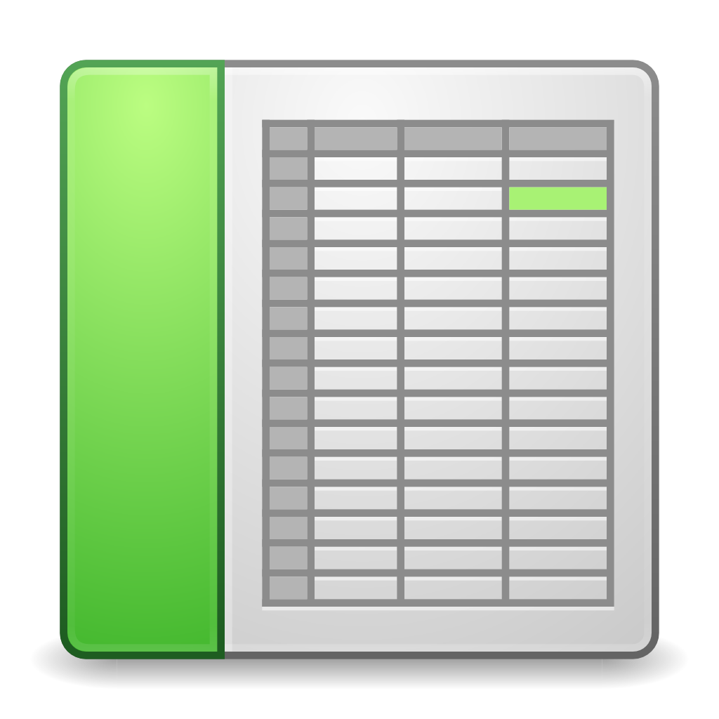 Mimes x office spreadsheet Icon.