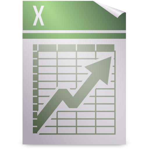 Office, spreadsheet icon.