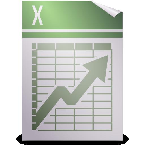 Office, spreadsheet icon.