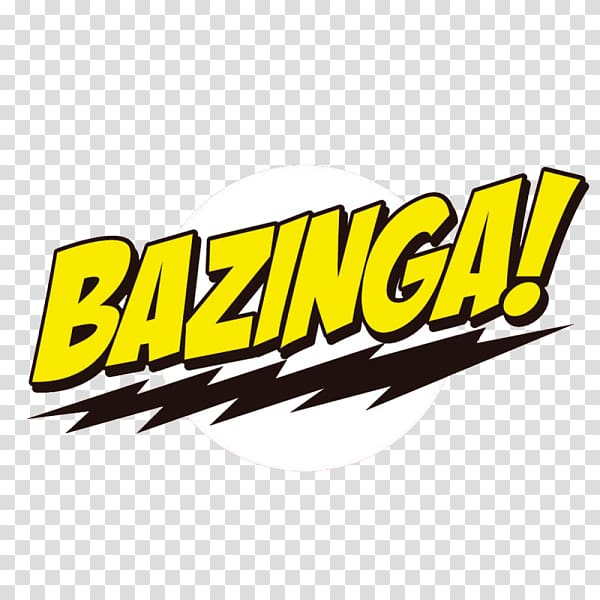 Bazinga logo illustration, T.