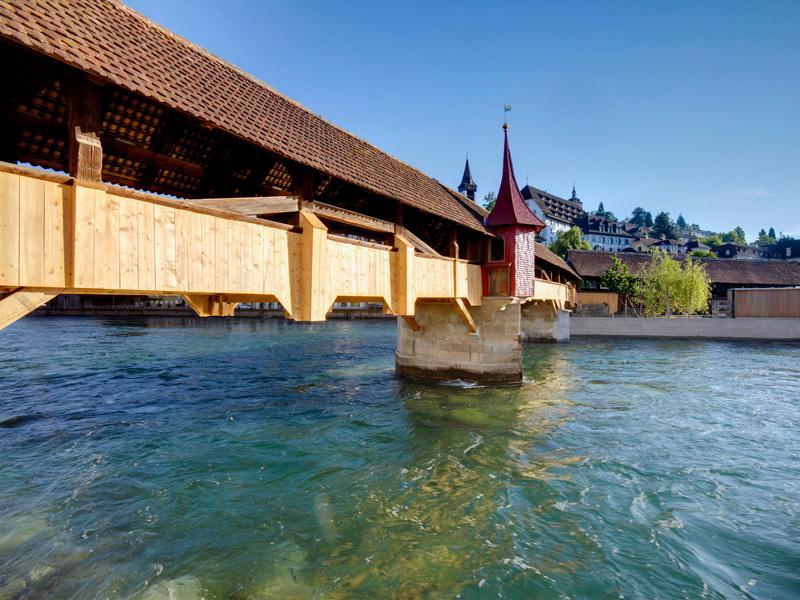 Spreuer Bridge Lucerne.