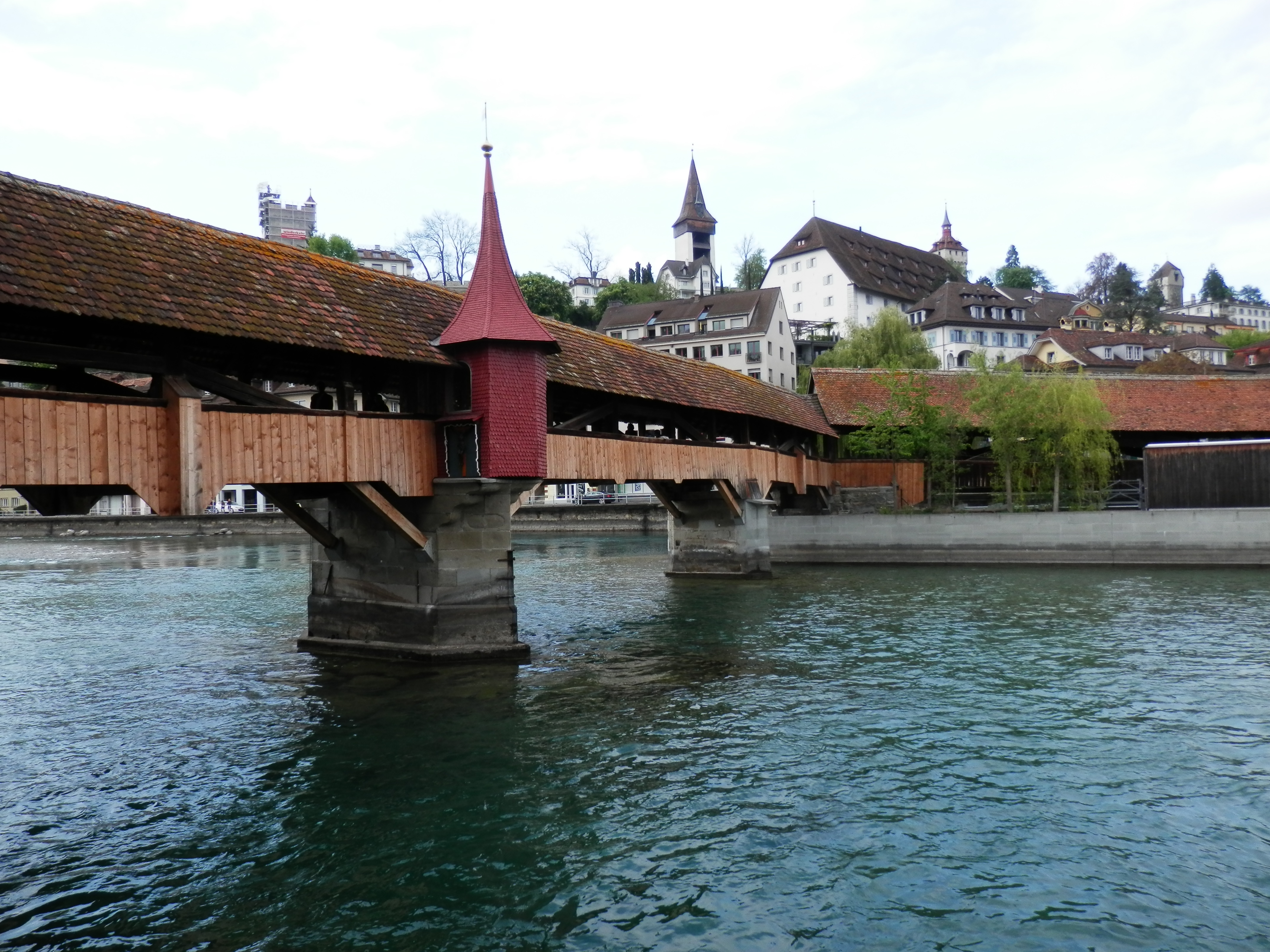 The Beautiful Structures of Luzern.