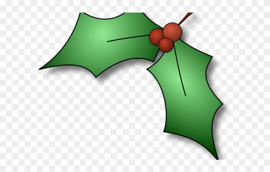 Christmas Holly Image.