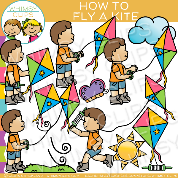 Spring activities clip art , Images & Illustrations.