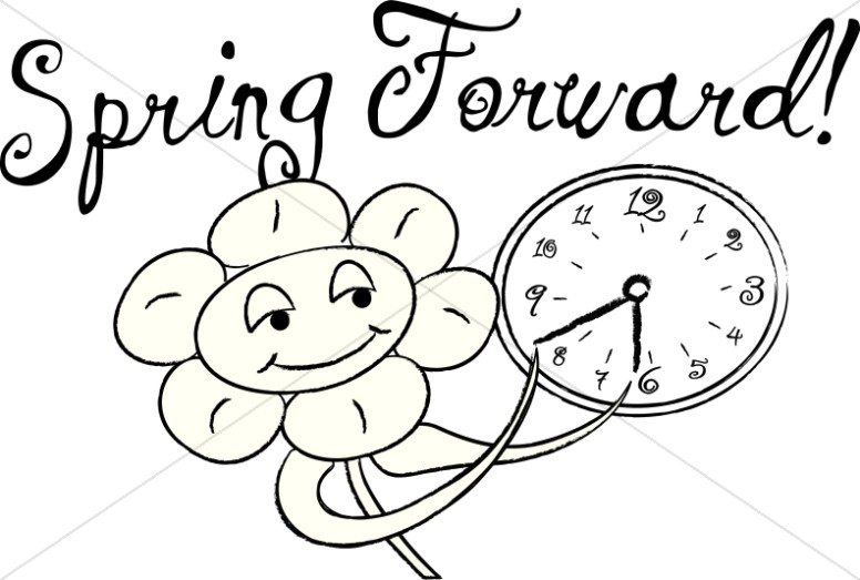 Daylight Savings Time Begins Clipart Daylight, Spring Forward Free.