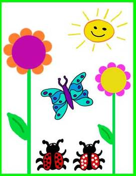 Spring and Summer Clipart (shells, flowers, butterflys, ladybugs, and more!).