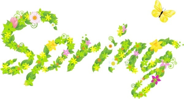 Spring flowers clip art free vector download (210,654 Free vector.