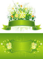 Free Spring Banner Clipart and Vector Graphics.