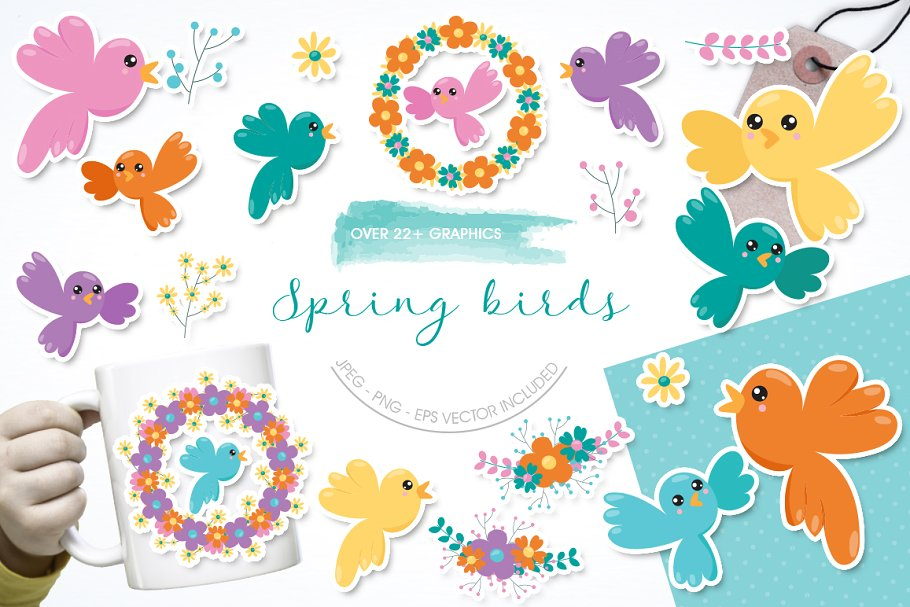 Spring Birds.