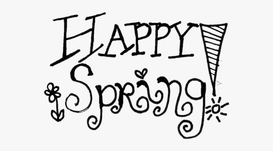 Happy Spring Clip Art Clipart Free Download.