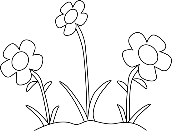 Free Flowers Black And White Clipart, Download Free Clip Art.