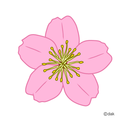 Spring Blossom Clip Art.