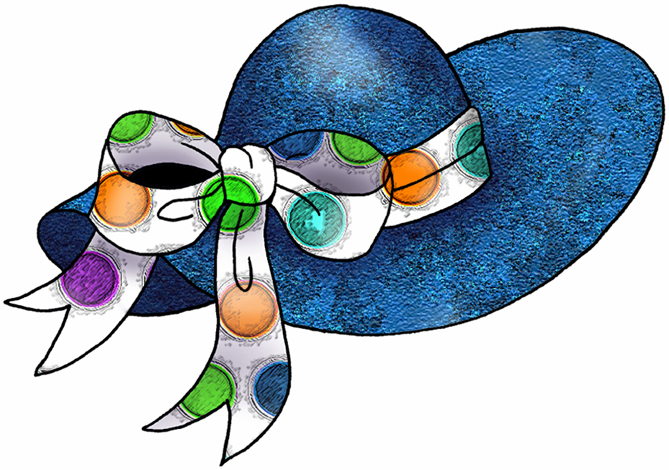 Easter Hat Clipart.