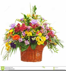 Free Spring Flower Bouquet Clipart.