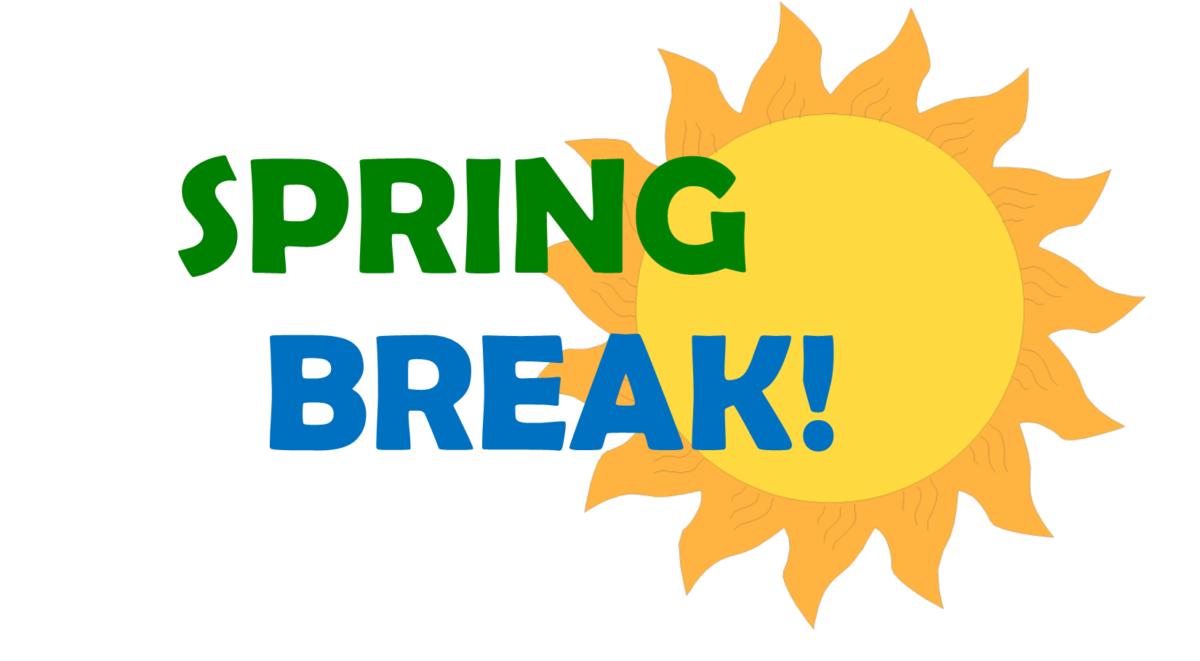 Spring Break March 18.