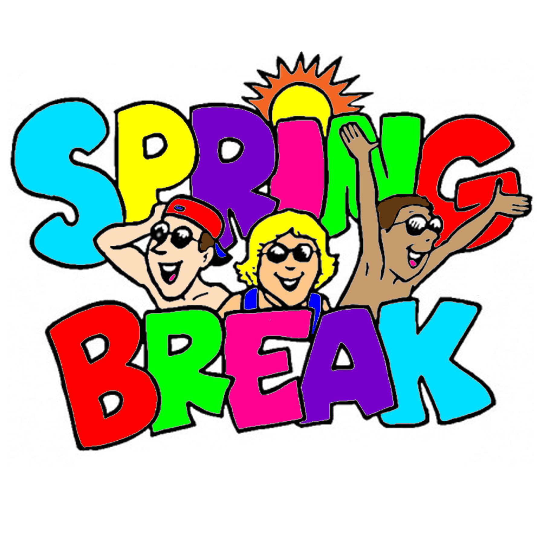 Spring Break Clip Art N24 free image.