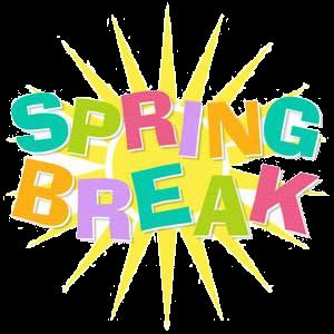 Spring Break Clipart Frames Illustrations Hd Images Png.