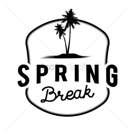 Free Spring Break Stock Vectors.