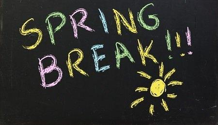 Spring Break Cliparts.