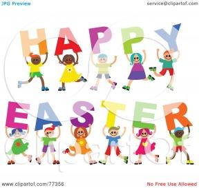 Spring Break Clipart Easter.