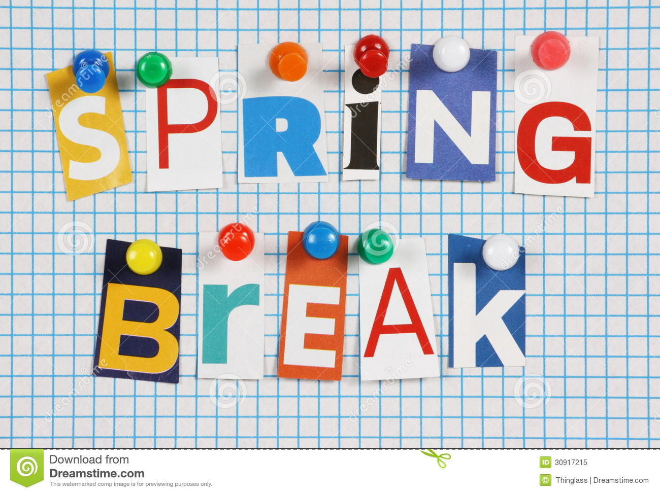 Spring Break Clipart Free.