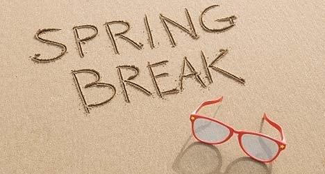65 Free Spring Break Clip Art.